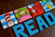 Dr Suess Characters Set  the lorax cat in the by LittleHuckleberry, $54.00