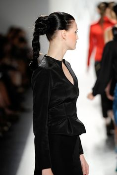Ruffian: Knotted Braid (side) #tresemme #hair #hairstyling