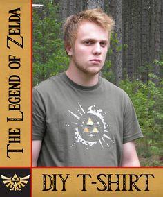 DIY Zelda shirt