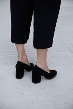 Block heels. @thecoveteur