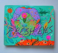 """""""Fresh eyes, new sketchbook """""""