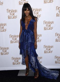 Naomi Campbell Pictures - Naomi Campbell's Fashion For Relief Charity Fashion Show - Arrivals - Zimbio