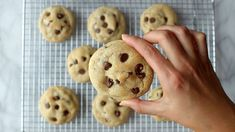 These are THE BEST soft chocolate chip cookies! Just ultra thick, soft, classic chocolate chip cookies! Fun Baking Recipes, Sweet Recipes, Dessert Recipes, Desserts, Perfect Chocolate Chip Cookies, Chocolate Cookie Recipes, Old Fashioned Bread Pudding, Best Cookies Ever, Vegetarian Chocolate