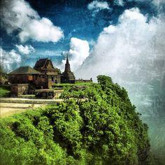 Bokor mountain, kampot, cambodia