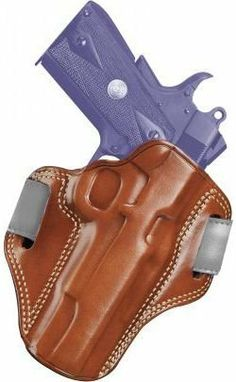 Galco Combat Master Belt Holster for Beretta 92F / FS (Tan, Right-hand) by Galco. $66.36. We combined premium saddle leather, double-stitched seams and hand-molded fit to create the Combat Master, a holster of exceptional quality.     The open top design offers a swift draw and presentation, while detailed molding provides secure retention. The butt-forward cant allows effective concealment of even a large defensive handgun. The Combat Master has an open muzzle and fits bel...