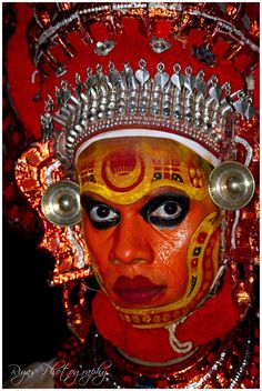 Theyyam Hindu ritual, Kerala, India