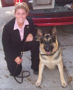Iraq Hero Adopts Her Military Working Dog After 4-year Battle. dogdays.grouchypuppy.com