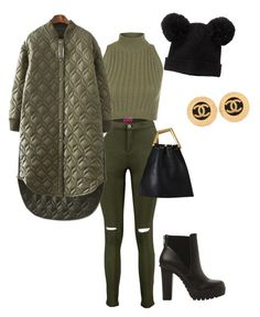 """Trendy"" by brussstyles on Polyvore featuring WearAll, Chicnova Fashion, Steve Madden, Monki and Chanel"