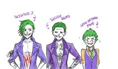 Poor LEGO Joker, his 'big brothers' are terrifying lol