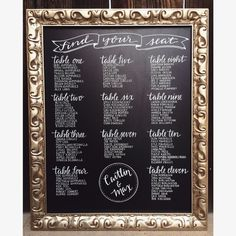 36 best chalkboard seating charts images chalkboard seating charts