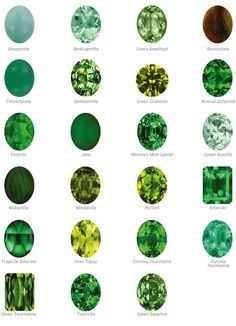 Green gemstones - What makes emeralds so hot – Green gemstones Green Gemstones, Minerals And Gemstones, Rocks And Minerals, Types Of Gemstones, Gems Jewelry, Gemstone Jewelry, Jewellery, Emerald Gemstone, Emerald Jewelry