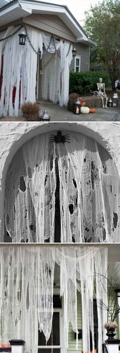 cool DIY Halloween projects will scare your guests - . - 24 cool DIY Halloween projects will scare your guests – cool DIY Halloween projects will scare your guests - . - 24 cool DIY Halloween projects will scare your guests – - Halloween 2018, Soirée Halloween, Outdoor Halloween, Holidays Halloween, Halloween Makeup, Diy Halloween Haunted House, Vintage Halloween, Hollween Decorations, Diy Halloween Decorations For Outside