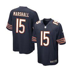 Men's Nike Chicago Bears Brandon Marshall Game Jersey