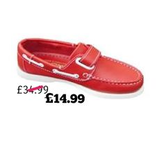 Red! Red! Red! Why not? 🕺🏽 https://www.danddboysshoes.co.uk/product/boys-moccasins-shoe/