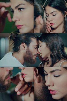 Yaman and Özdemir - Collage Turkish Men, Turkish Beauty, Turkish Actors, Canned Yams, Muslim Girls, Early Bird, Beautiful Couple, Celebrity Couples, Cute Couples