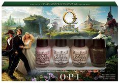 Disney's Oz Mini Nail Lacquers - hello new purchase :)