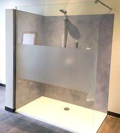 Dusche ohne Fliesen, fugenlos gespachtelt in Betonlook! The Most Useful Bathroom Shower Ideas Home Decor Bedroom, Room Decor, Walk In Shower, Home Hacks, Beautiful Bathrooms, 12 Months, Interior, Drupal, Hair Bow