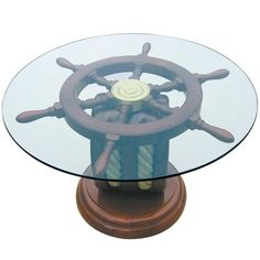 Nautical Decorating Ideas | interior decorating with nautical decor accessories ship wheels