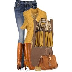 """""""Color Of The Leaves"""" by cindycook10 on Polyvore"""