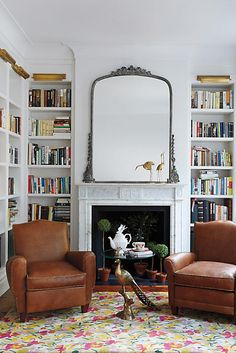 home design Gleaming Primrose Mirror Home Library Design, House Design, Cozy Home Library, Home Library Rooms, Small Home Libraries, Design Desk, Set Design, Cool Stuff, Home And Living