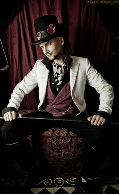 steampunk ringmaster | There's something villainous about him. I want to use him for more ...