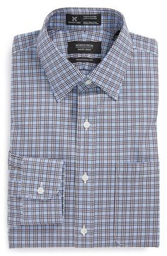 Nordstrom Smartcare™ Traditional Fit Plaid Dress Shirt available at #Nordstrom $69.50