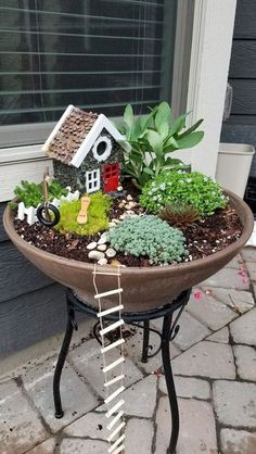 If you are looking for Diy Fairy Garden Design Ideas, You come to the right place. Below are the Diy Fairy Garden Design Ideas. This post about Diy Fairy. Indoor Fairy Gardens, Mini Fairy Garden, Fairy Garden Houses, Diy Garden, Gnome Garden, Miniature Fairy Gardens, Garden Crafts, Garden Projects, Garden Art