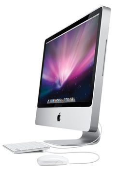 The iMac packs a complete, high-performance computer into its all-in-one design.