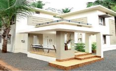 Cost Effective 4 Bedroom Modern Home in Low Budget - Free Plan - Free Kerala Home Plans