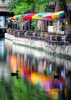 The San Antonio Riverwalk, #Texas