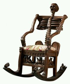 Not your grandmothers rocking chair...but i'd use it and i am a grandma