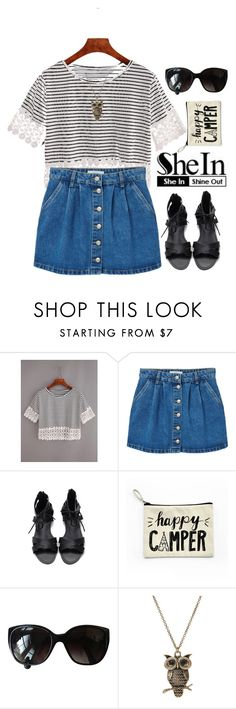 """SheIn contest"" by hungry-unicorn ❤ liked on Polyvore featuring MANGO and Chanel"