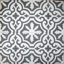 grey and white moroccan tile - Google Search