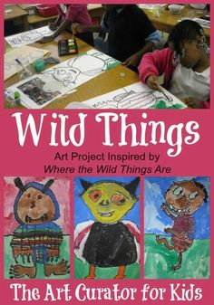 The Art Curator for Kids - Where the Wild Things Are Art Project Maurice Sendak
