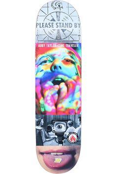 Taylor Visual Overdose Skateboard Deck by Black Label
