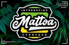 Mattoa - Intro Sale by BombasType on @creativemarket