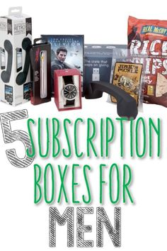 Subscription Boxes for Men