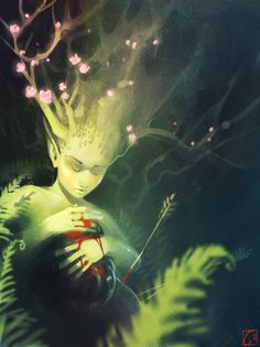 Fantasy Art And Other Stuff | theartofanimation: Alexandra Khitrova