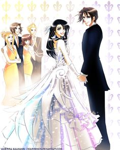 Squall Rinoa Wedding by DrAssenov.deviantart.com on @deviantART