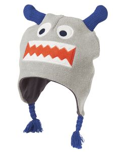 Accessories Heather Grey Monster Ear Flap Hat by Crazy 8 7b34d25adc6e