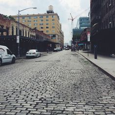 The meatpacking district in Manhattan. So much character! #newyorkcityinspired #instagram