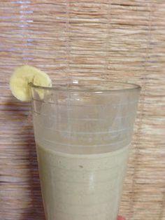 Healthy Peanut Butter Milkshake, perfect for Dr. Ian's SHRED diet!