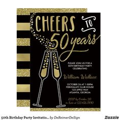 Shop Brunch & Bubbly Bridal Shower Invite, Faux Silver Invitation created by DeReimerDeSign. Personalize it with photos & text or purchase as is! 50th Wedding Anniversary Invitations, 50th Birthday Party Invitations, Cheap Wedding Invitations, Anniversary Parties, 25th Anniversary, Invitations Online, Anniversary Ideas, Anniversary Centerpieces, 50th Party