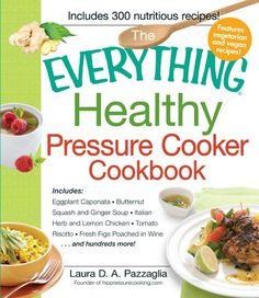 Pressure Cooker Cookbook give-away on @PressureCookingToday good luck!