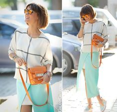 mint-pencil-skirt-orange-proenza-schouler-ps11-galantgirl-streetstyleblog