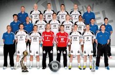 THW-Mannschaft 2012/2013