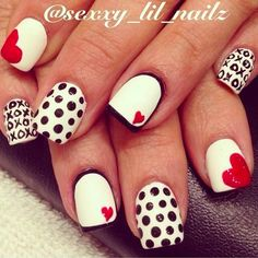 12 Nail Designs for Valentine's Day 2018 - Nail Favorites