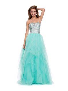 PRIMA Glitz GZ1511 Banded Beaded Prom Dress