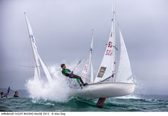 Photo by Alan Dop - It was the 15th of August and at the start of the 420 junior European Championship held at Pwllheli Sailing Club