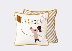 Cushion Ferm Living - Dog - Ferm Living, Mes Habits Chéris - kidstore Récréatif - Décoration enfant